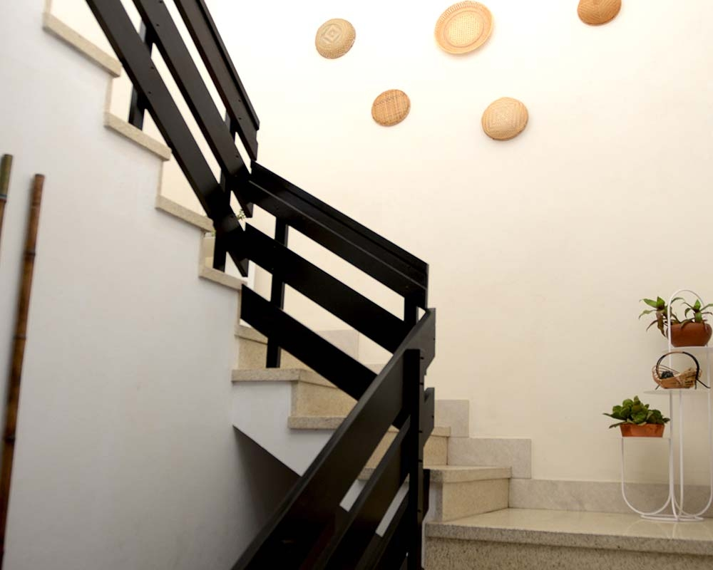 Stair to second floor