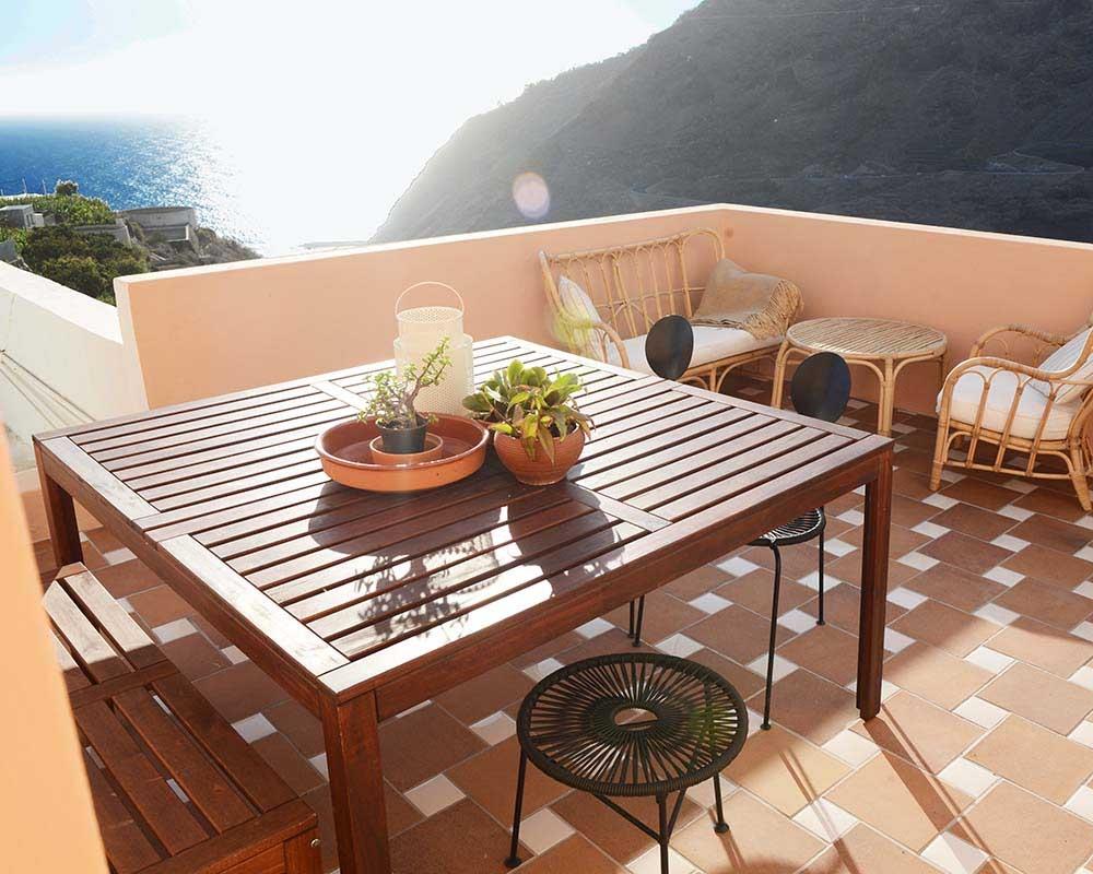 Peach terrace